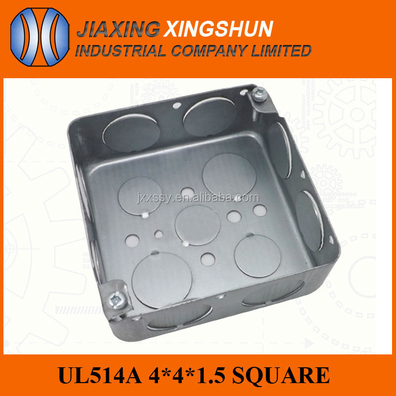 Hot Selling Surface Mounted Galvanized Metal Electrical Conduit Outlet Box