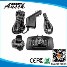 HD Car DVR Traveling Driving Data Recorder Camcorder Vehicle Camera With 120 Degree Angle GS8000L