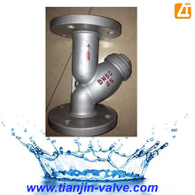 Factory Supply Stainless Steel Flange end Y Strainer Price