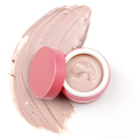 Private Label Organic Bentonite Natural Powder Rose Pink Skin Whitening Face Facial Mud Clay Mask
