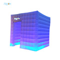 New Square White LED Lighting Inflatable Photo Booth for Sale