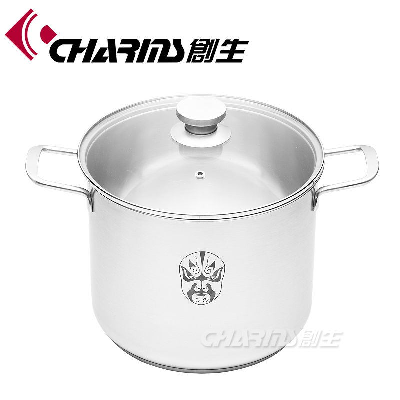 the best quanlity,Charms China porcelain on steel cookware