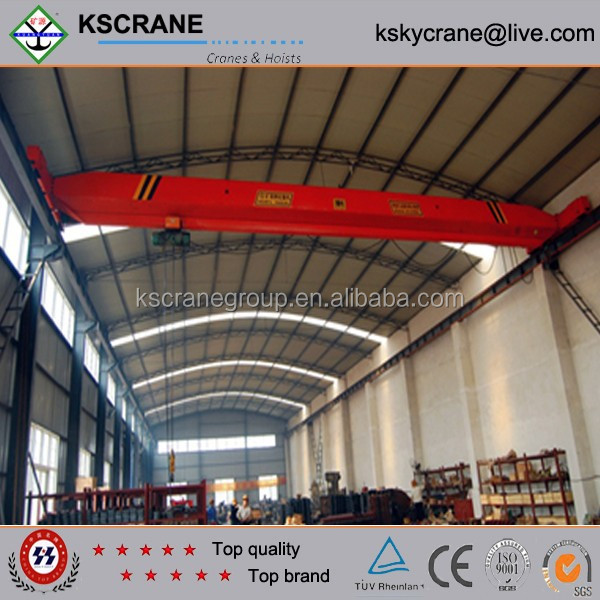 High Working Efficiency LDA Model 1ton-20ton Motor-driven Overhead Crane