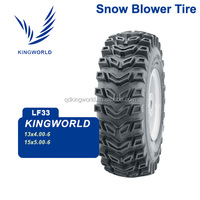 2 Ply 13x4.00-6 Snow Blower Tubeless Tire