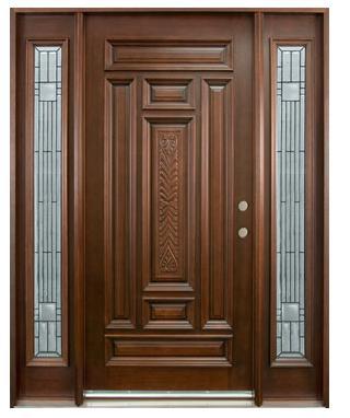 Old external doors