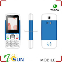 new products 2014 Celular Mini 5700 Doble Sim Con Whatsapp unlocked cell phone