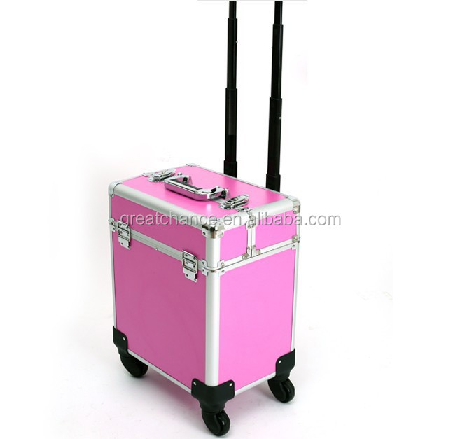 Beauty Trolley Vanity Case Make up Cosmetic Box Bag Hairdressing Nail Salon(XY-916)
