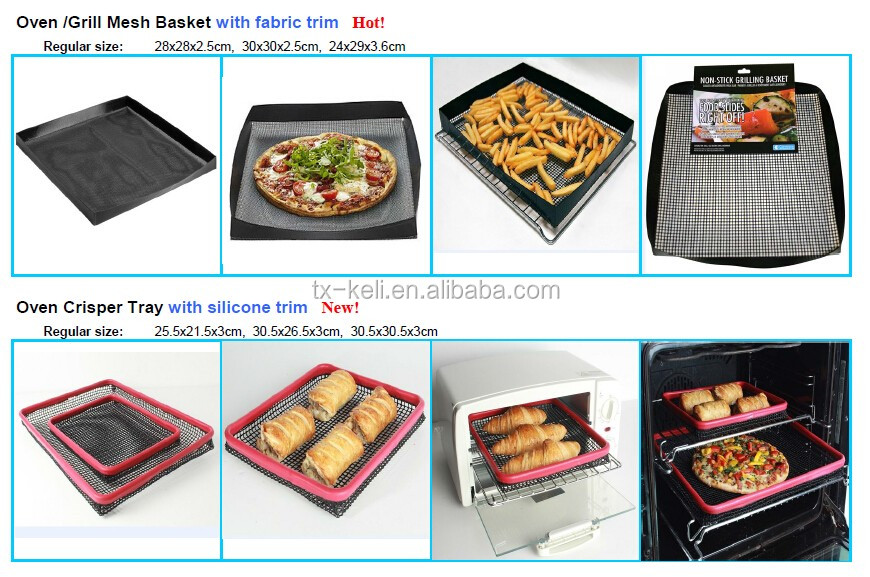 "BSCI factory Reuable Oven Liner | 15.8""x19.7"", 0.10mm thick, beige 