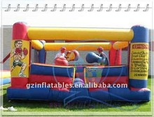 Qi Ling exciting inflatable fighting game bouncy boxing