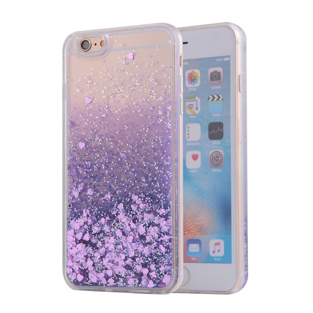 For iphone case wholesale liquid glitter for iphone 6,bling bling liquid glitter