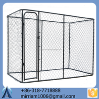 Eco-friendly and folding customizable and strong galvanized steel/ iron cheap dog kennels/ cages