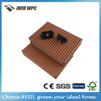 Waterproof and fireproof WPC outdoor decking board