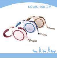 New Products 2016 Fashionable Soft Grip Retractable Handhold Pet Dog Leash