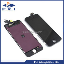 LCD display with touch digitizer screen for iphone 5G