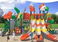Kaiqi Group Sea Sailing Series KQ60024A kids favorite attractions amusement park plastic commercial outdoor playground equipment