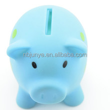 Coin holder pretty kids transparent plastic coin bank