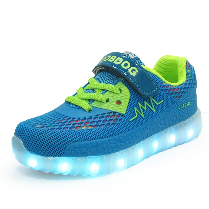 Flat LED Shoes Kids