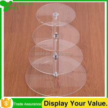High Quality Ceap Cake Round Acrylic Display Case
