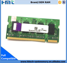 Notebook ddr2 memory 800mhz CL6 sodimm ddr2 ram 1gb