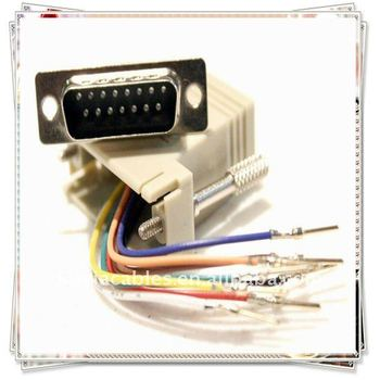 how to connect rj45 female jack