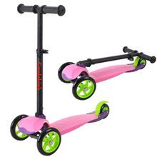 Factory Directly Sale Fashion Three Wheels Commercial Children Foldable Scooter