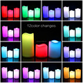 Color changing Remote aaa Battery Hot Selling Candel LED candle
