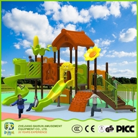 Tree House Series Kids Games Entertainment Children Amusement Park 2015 Playground Equipment For Restaurants