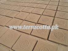 Terracotta traditional handmade tiles