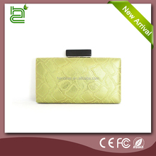 Fresh wild handsome and popular green PU wholesale bangkok clutch bag
