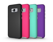 New product arrivel heavy duty tpu hard plastic case for samsung galaxy s8 phone case pc