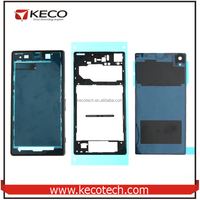 For Sony Xperia Z Full Housing Complete Housing, Front Frame + Middle Frame + Back Battery Cover For Sony Xperia Z L36h