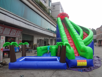 giant inflatable water slide for adult used commercial water slides wholesale