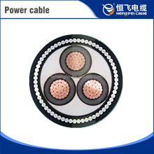 Low Smoke Zero Halogen Guangzhou Shredder Spring 50mm2 3 Core Electric Cable