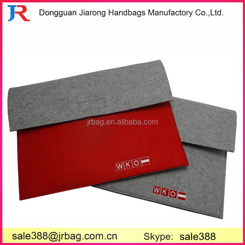 High demand products Felt material handles laptop sleeves