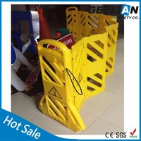 Super Quality Plastic Folding plastic retractable safety barriers from China expandable road safety barrier