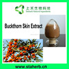Manufacturer Supplier Buckthorn Skin Extract 4:1 10:1, 10% anthraquinone Buckthorn Skin Extract holy thorn extract