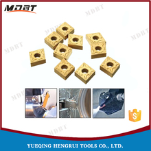 PVD Coating Machine Metal Cutting CNMG Lathe Cutter Used Carbide Inserts