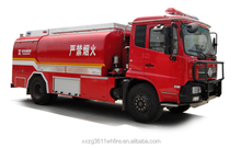 Dongfeng Tianjin Double Fuel Oil Flame-proof Delivery Tanker Truck