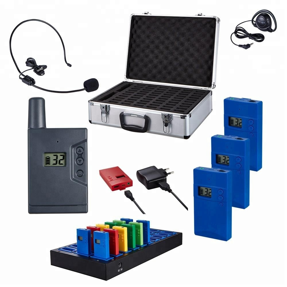 Hot sale Single Earphones for simultaneous interpretation,teaching, training, meeting, translation , tour teams visiting