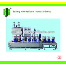 GCJ02-50-I/II BH weighing type automatic liquid filling machine