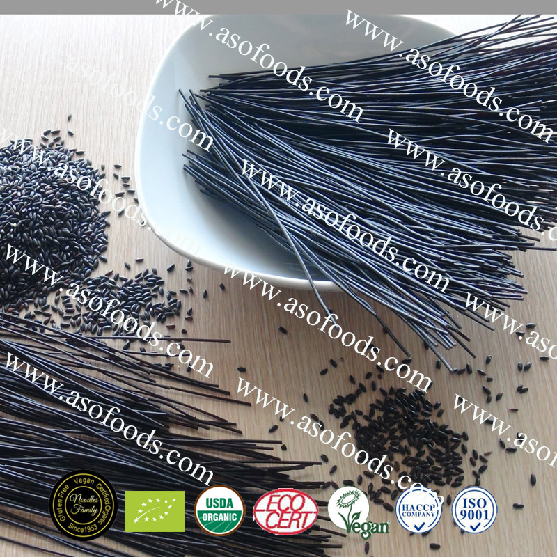 100% Black Rice Noodle