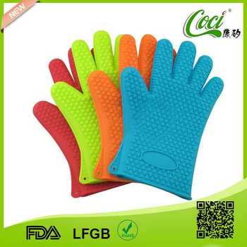 funny silicone oven mitts