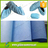 Hot Sales Disposable Waterproof Bedsheet Roll Use Medical Sms Non Woven Fabric Roll/smms non-woven fabric shoe cover cloth