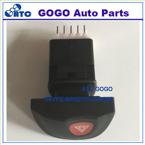 Aiming For BMW 3 Series E46 61318368920 Hazard Warnng Light Lock Switch Emergency Flash Light Switch Push Button On//Off Switch