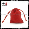 Brand new all purpose custom printed jewelry pouch, shopping jewellery pouch packing, velvet drawstring bags