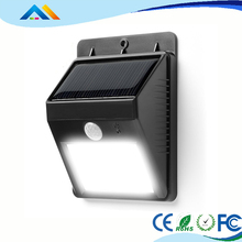 Alibaba gold supplier 1W 200LM plastic garden solar led paver wall light