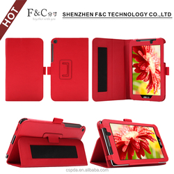 Fast shipment PU Leather Stand Folio Case Cover for ASUS ZenPad 8.0(Z380C) with Elastic Hand Strap
