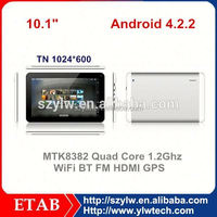 MTK8312 Dual core 10 inch android 4.0 tablet sim card slot