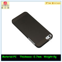 black rugged rubber matte hard case for iphone 5s