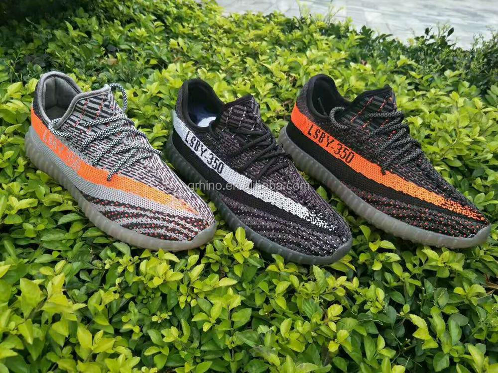 Flywoven running shoes men flyknit sport shoes neakers 350 v2